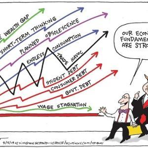 アメリカ経済がお先真っ暗で辛い
