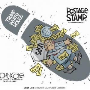 アメリカ郵便局の危機…民主主義への冒涜