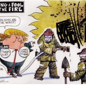 アメリカ西海岸が燃えている