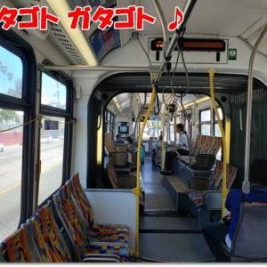 久々のバス、空気を読めないオンナ♪