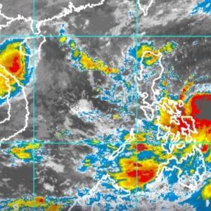 台風QUINTA、明日10時バタンガス上空を通過予定
