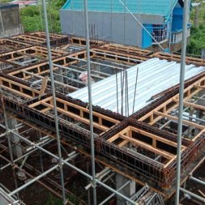我家の裏の新築工事 ・・・・ 経過報告