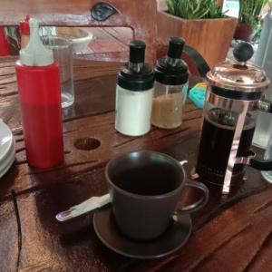 インスタントじゃないコーヒーが、無料のレストラン