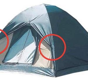 テントの窓や出入り口やタープなどをまとめる時に知っておきたい事