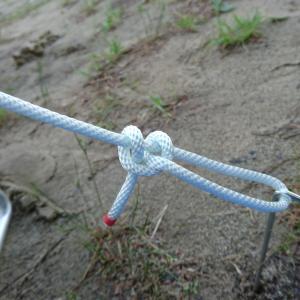 自在結び(トートライン・ヒッチ)の結び方と使い方