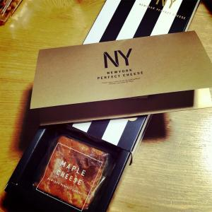 ニューヨークパーフェクトチーズ メープルチーズ