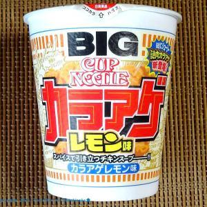【6/14発売】「謎肉カラアゲ」?…カップヌードルのカラアゲレモン味の新商品!