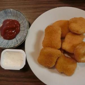 Safewayのチキンナゲットとクラムチャウダー 冷凍食品食べ比べ。。