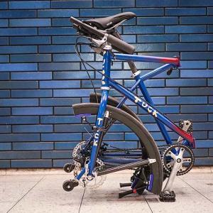 【車輪の再発明】折りたたみ式ホイール搭載の折り畳み自転車が登場