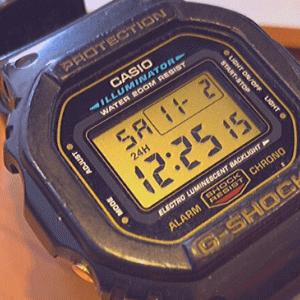Gショックの黒色おすすめモデル5選【メンズ向け腕時計】※PR