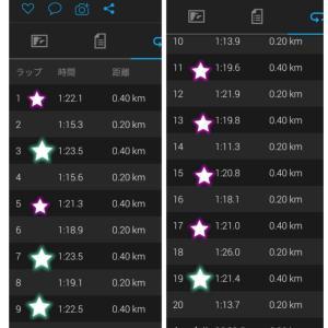 今夜は葛西臨海公園ナイトマラソン☆