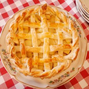 アップルパイを作りました