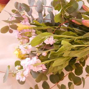 初めてネットでお花を買いました