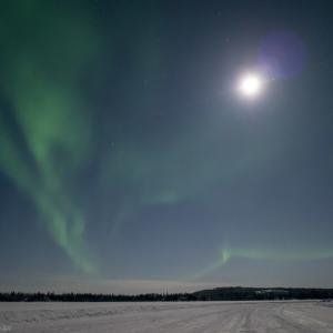 極寒の地でオーロラ撮影 RICOH GR2