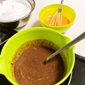休みの日は手作りで ガトーショコラ