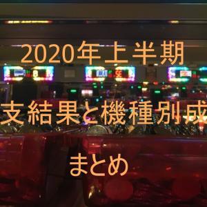 【コロナ自粛を乗り越えて】2020年上半期収支結果と機種別成績まとめ【サラリーマンがジャグラーで副収入!】
