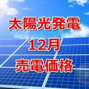 【太陽光発電】12月の発電量と売電価格は!?予想より下がってしまった原因
