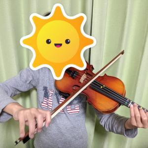 バイオリンの音に癒されるなー。息子の習い事の意外な効果