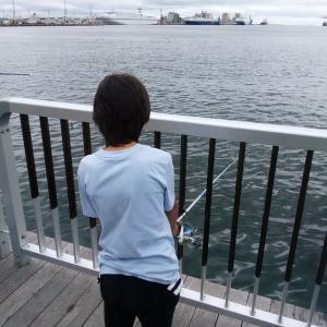 新しいことをやってみる。「えー俺が魚釣り」