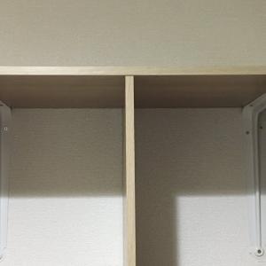 カラーボックスの吊り戸棚