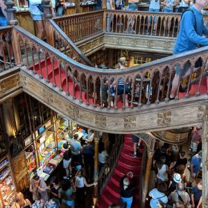 2019/09/15 ポルトガル旅行記:ポルト④ レロ書店、ドウロ川クルーズ