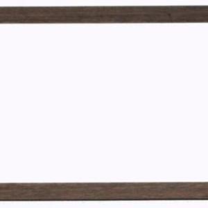 ウォールナット無垢材のポスターフレーム・・・632×299mm