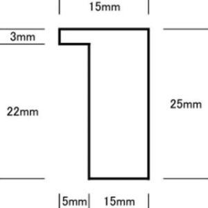 A2サイズ・ナラ無垢材ポスターフレーム オーダー