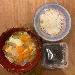 75.9kg (昨日+0.1kg) 餃子!