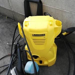 水害時こそケルヒャーが必要!高圧洗浄機で汚れを掻き出す