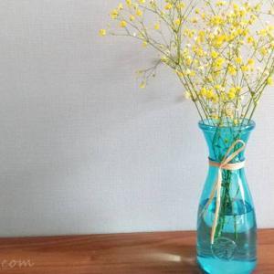 手軽に飾る!おしゃれで可愛いガラスの花瓶を購入