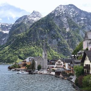 美しい湖畔の街