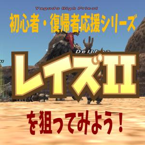 初心者・復帰者応援シリーズ ~レイズII~