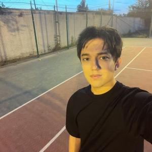 このメンバー? ディマシュがテニス