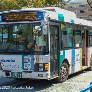 超福岡 世界最大級のバス会社 西鉄バス