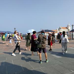 福岡市内は もはや日本じゃない! 韓国人 中国人 観光客多すぎ!