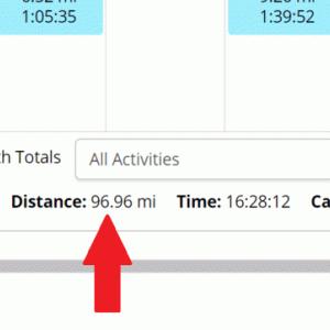 7月の走行距離~たいへんよくできました!