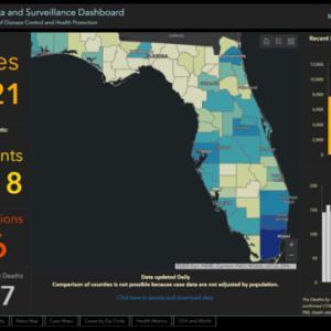 フロリダ州初の感染確認から今日で1年
