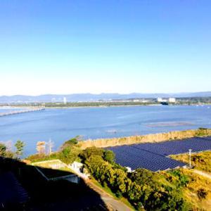 昨日ホテルの部屋から見た風景にGO WEST!/旅でもしようか-大塚博堂
