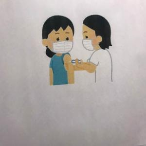 I got vaccinated.接種しました!/杏里-SUMMER CANDLES