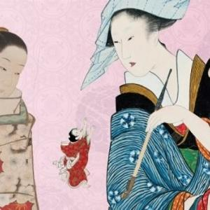 京都文化博物館で人気の催し肉筆浮世絵展示