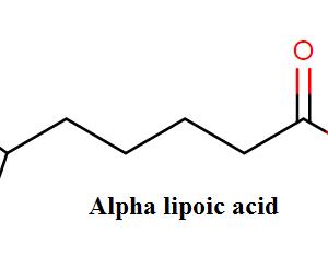アルファリポ酸:αリポ酸(肥満のザッカーラットでは、ALA{1時間に体重1kg当たり100mg}を10日間運動なしで投与することにより、インスリン刺激によるグルコースの運搬と代謝が促進された)