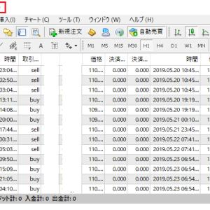 FX自動売買リアル検証 5月20日~24日