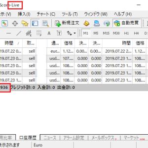 FX自動売買ツール オートシステム リアルトレード検証 7月第4週目 中間報告