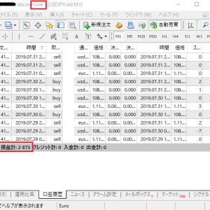 FX自動売買ツール オートシステム リアルトレード検証報告 8月第1週目