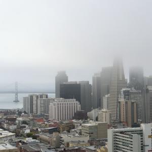 桑港は今日も霧だった