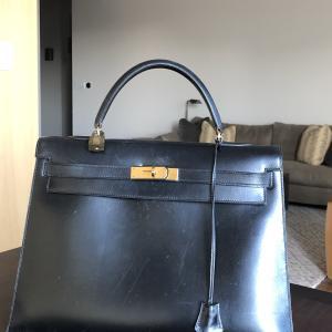 母にもらった50年以上前のケリーバッグ