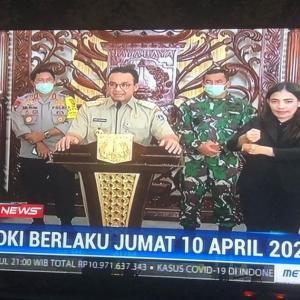 """インドネシア""""大規模社会的制限""""PSBB"""