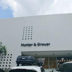 """観葉植物のお店と合体のカフェ""""Hunter &Grower"""""""