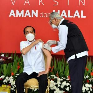 大統領からワクチン始まったPSBB Java-Bali強化の身の回りの話題