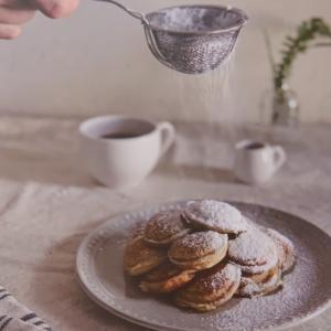 台北 オランダのスィーツ Poffertjes cafe 荷蘭小鬆餅